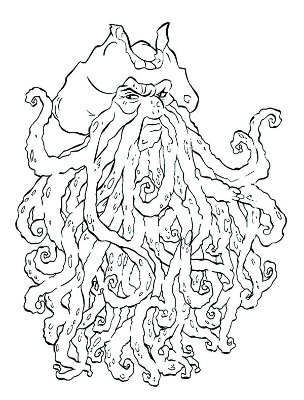 pirates of the caribbean coloring pages # 30