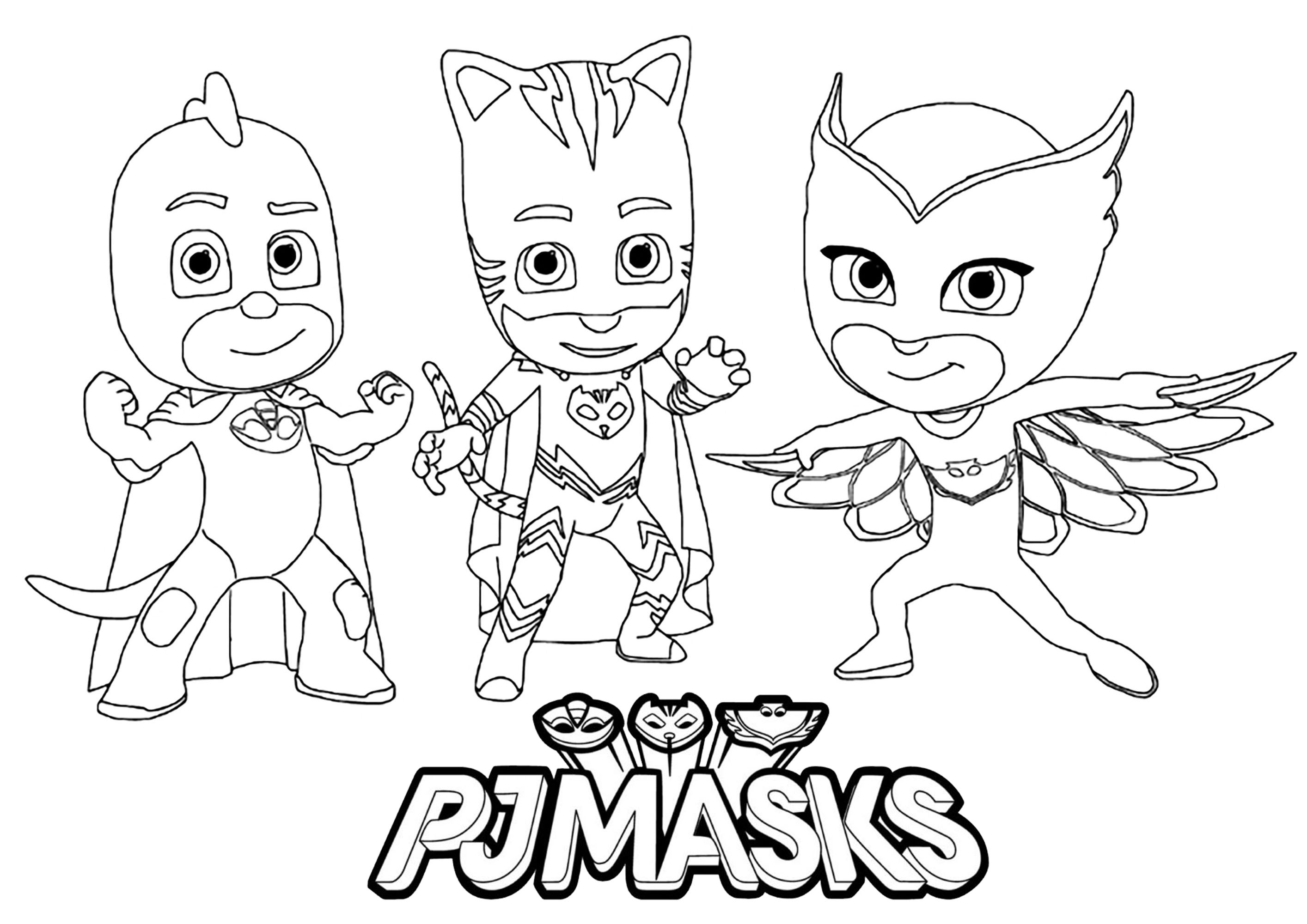 Pj Masks To Download For Free
