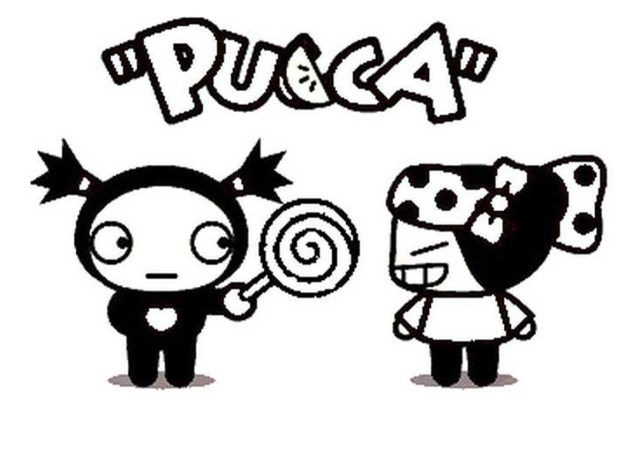 Pucca for kids - Pucca Kids Coloring Pages