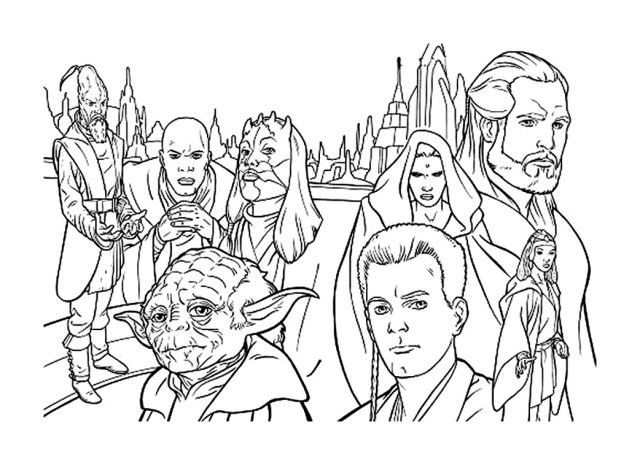 Star wars for kids - Star Wars Kids Coloring Pages