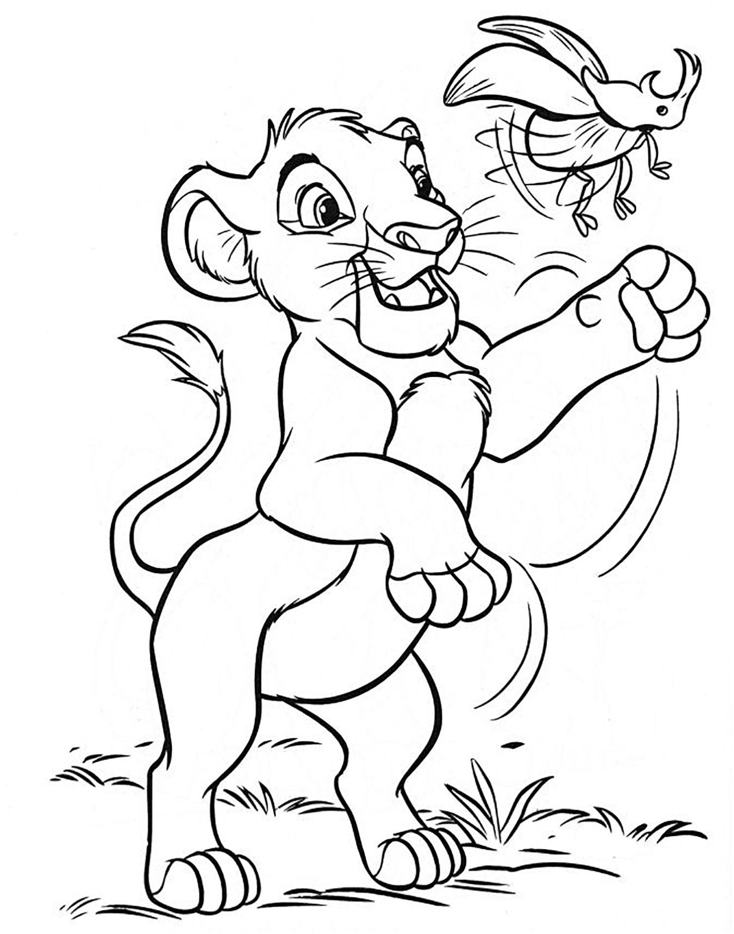 Simba The Young Lion King