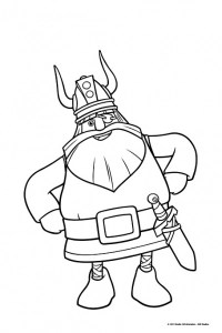 viking coloring pages # 4