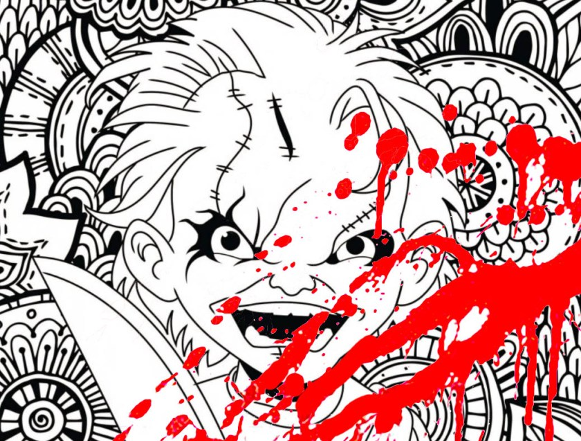 hidden  the blog  coloring pages for adults  justcolor