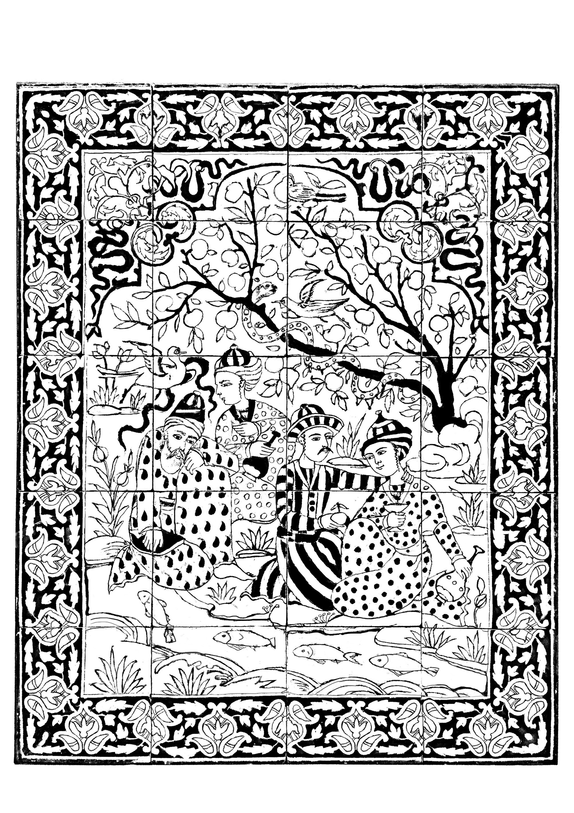 Wall Panel From Iran