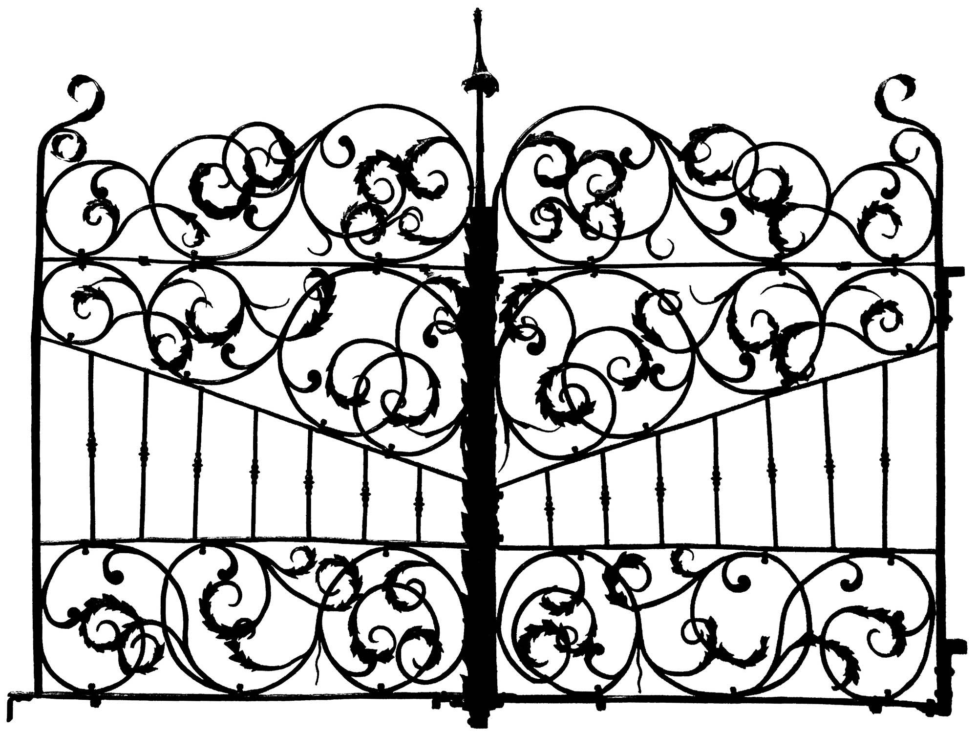 Gate Italy 17th Century 2