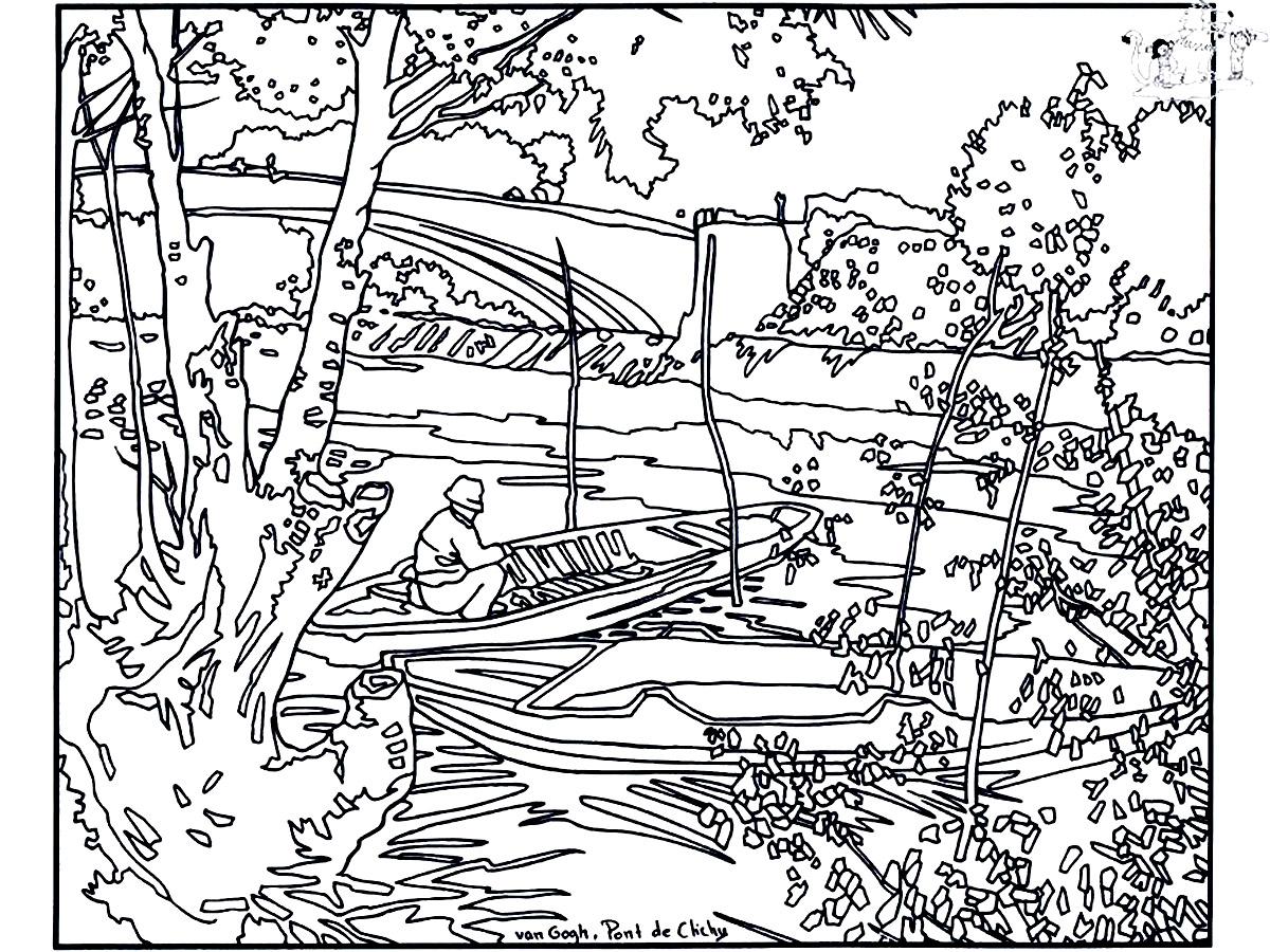 Van Gogh Pont De Clichy