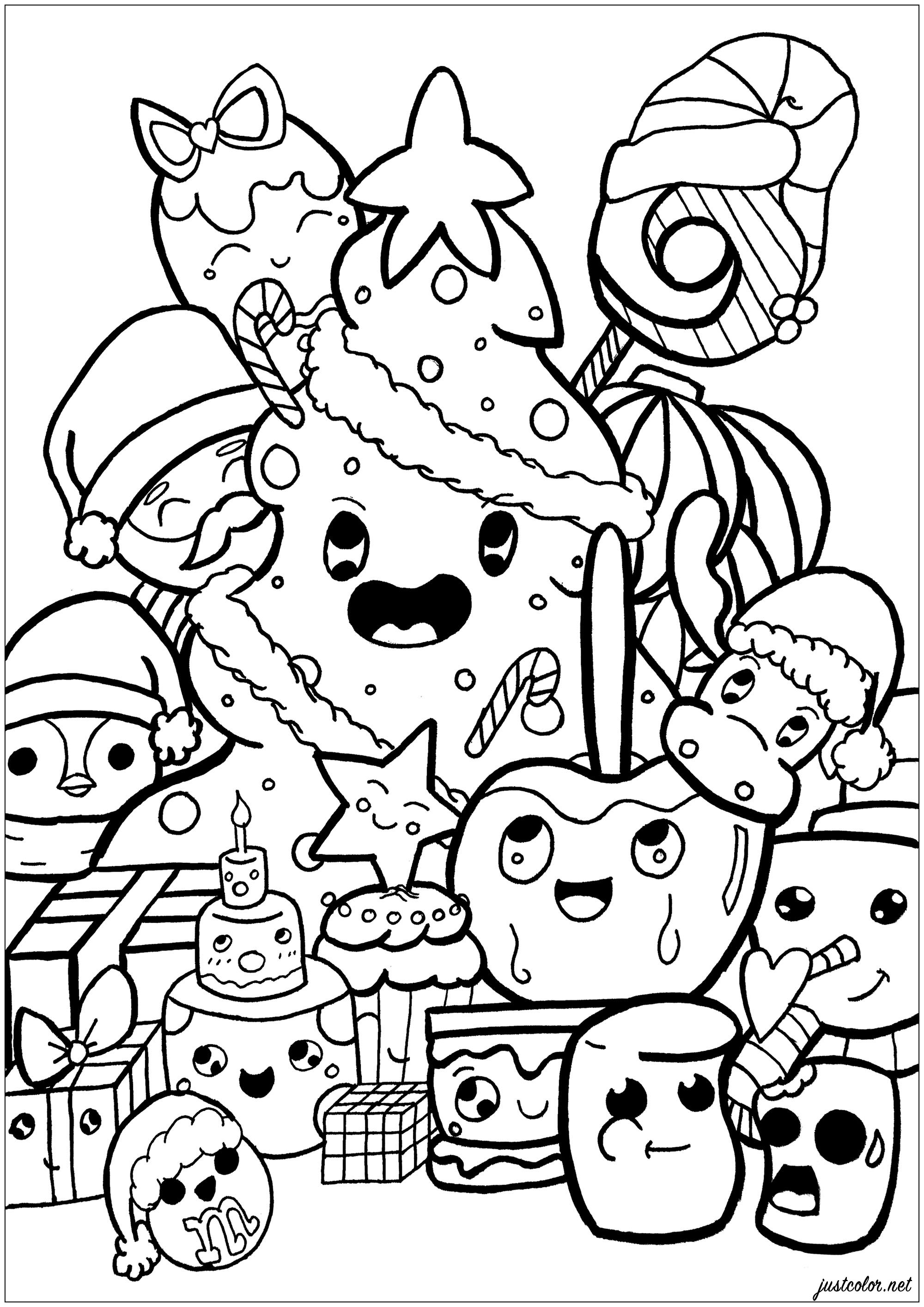 Printable Doodle Art Worksheets