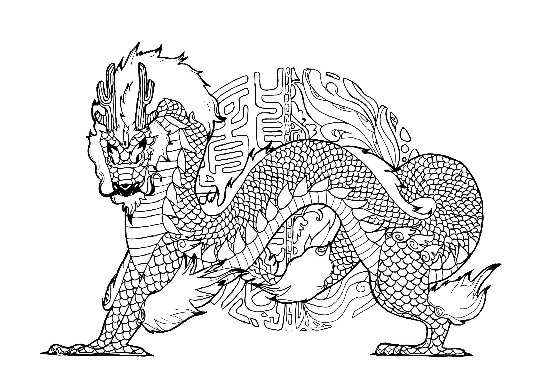 Dragon By Pauline