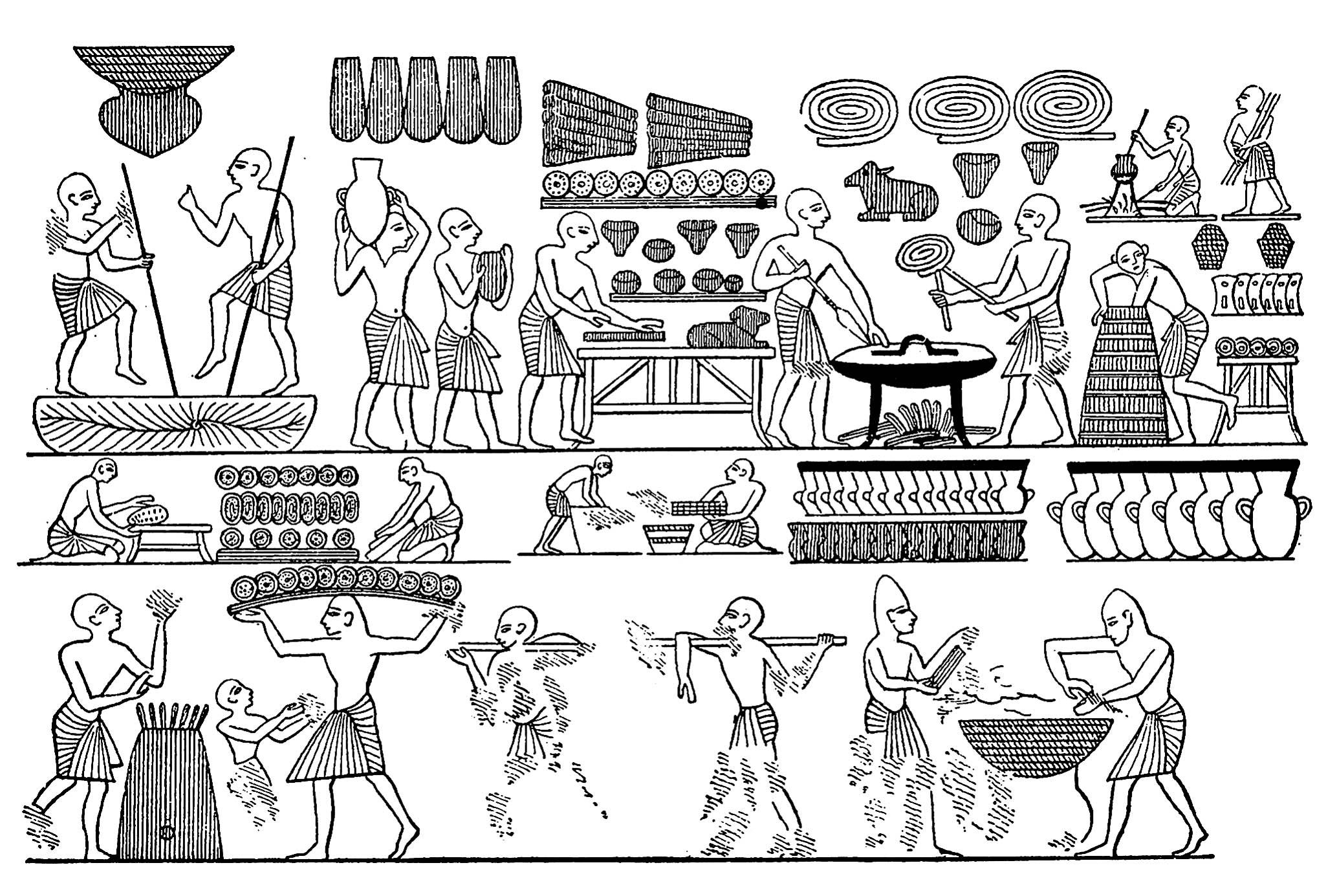 Egypt Fresco
