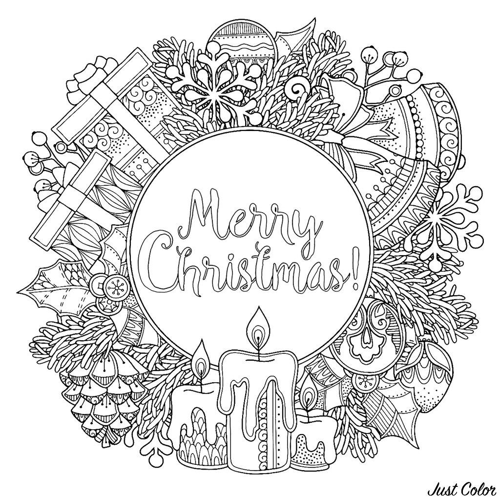 Doodl Christmas Wreath