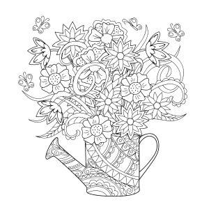 coloring pages flower # 19