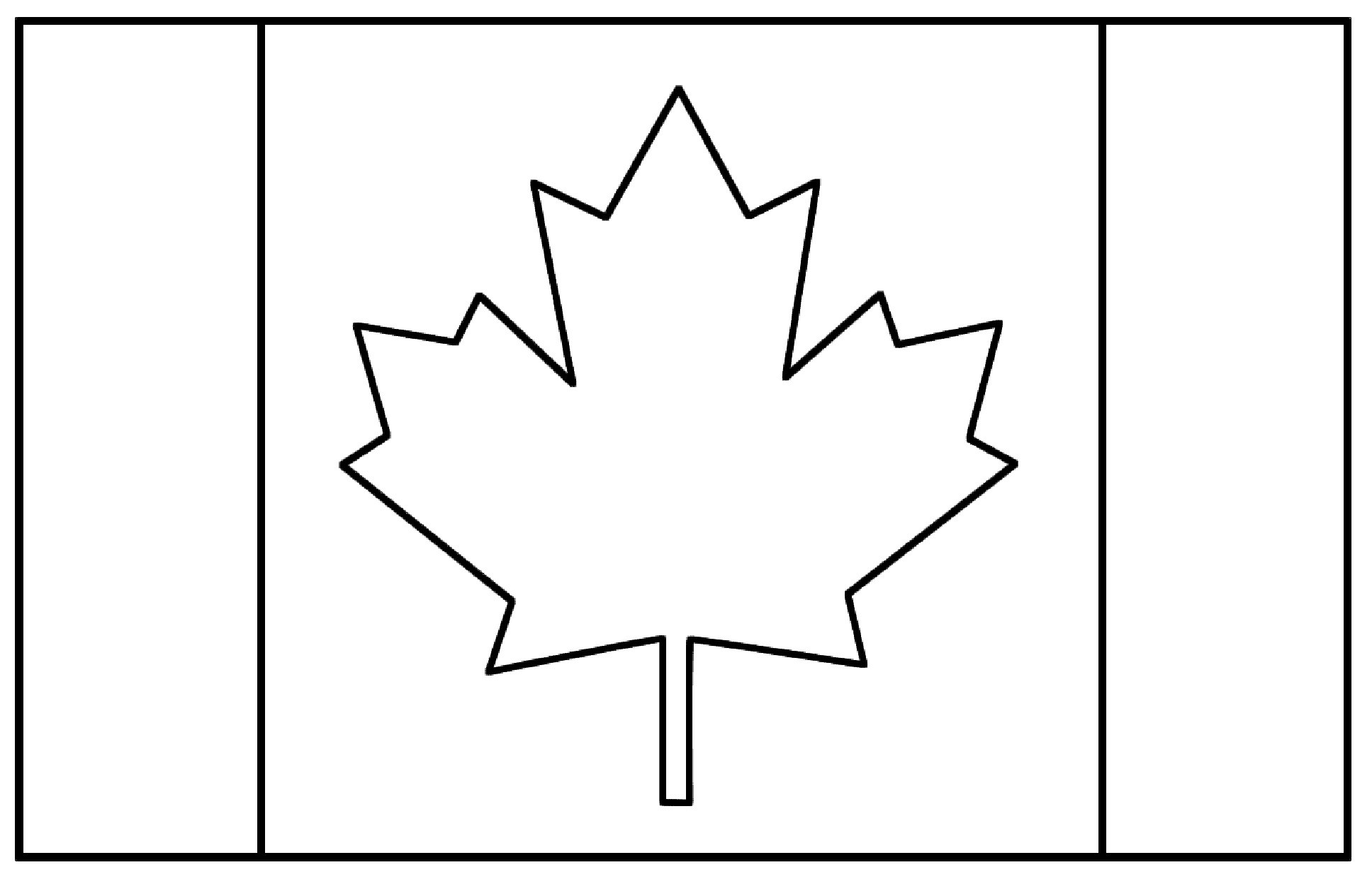 Canadian Flag Coloring Page Free Coloring Pages Download | Xsibe ...