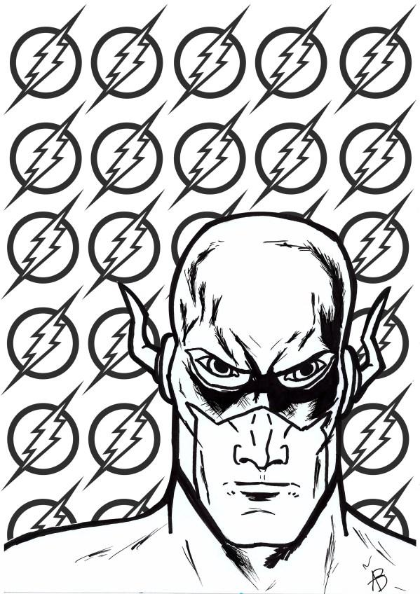 dc comics coloring pages # 7
