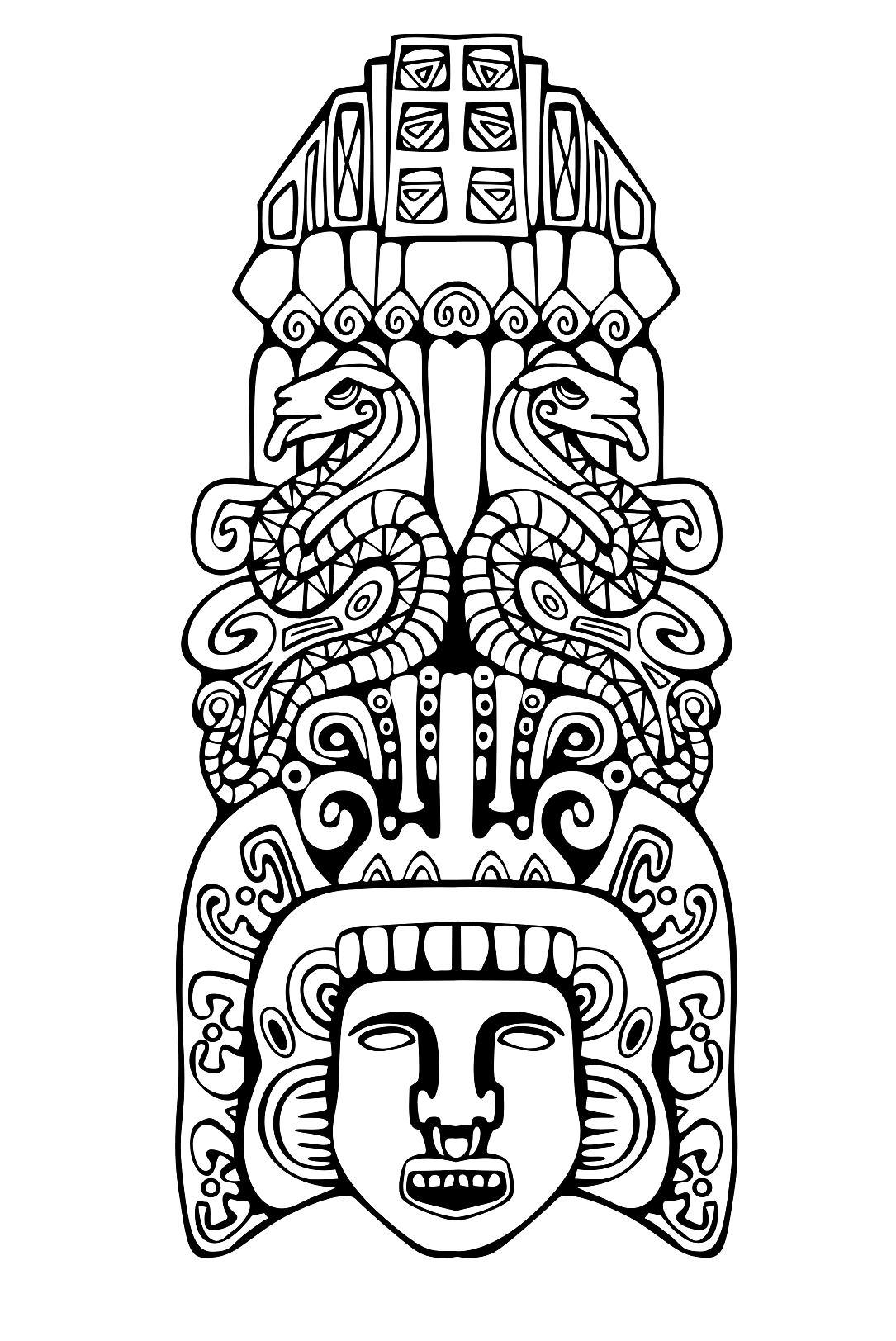 Totem Inspiration Inca Mayan Aztec 2