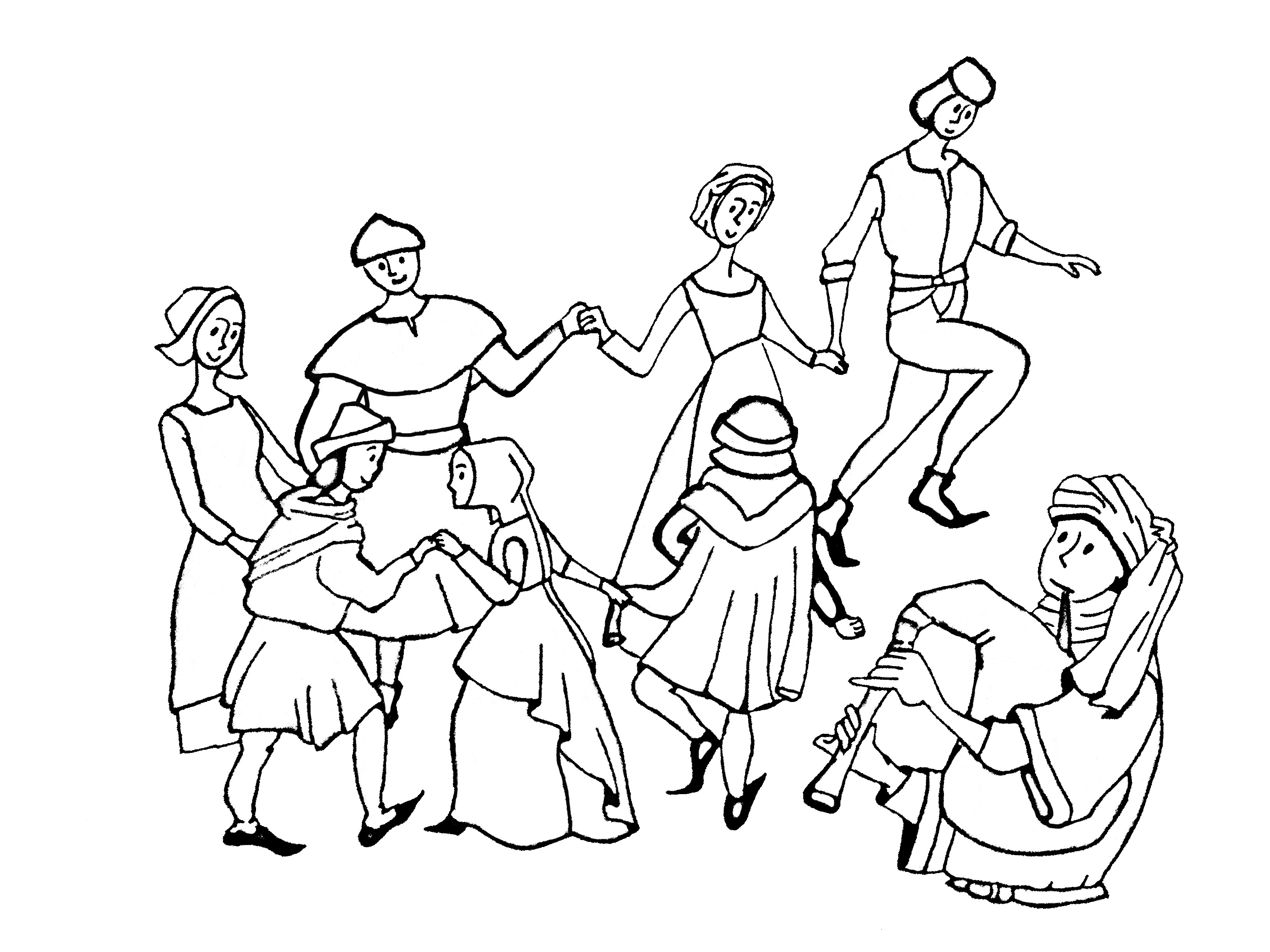 Middle Age Dance