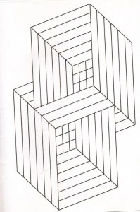 optical illusions coloring pages # 20