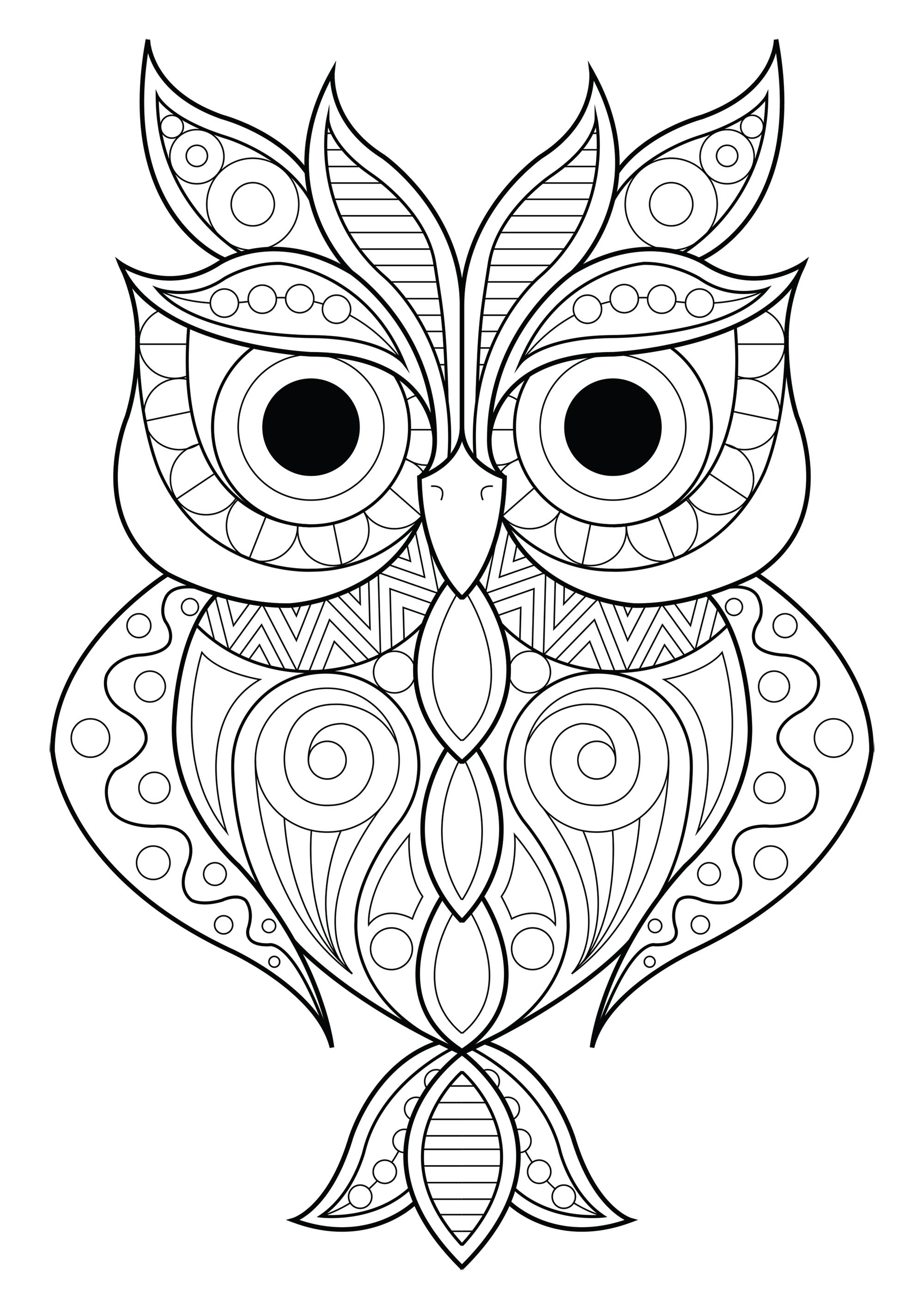 Owl Simple Patterns 2