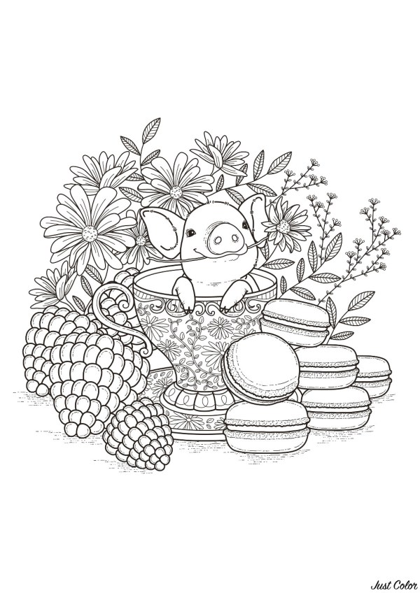 coloring pages of babies # 10
