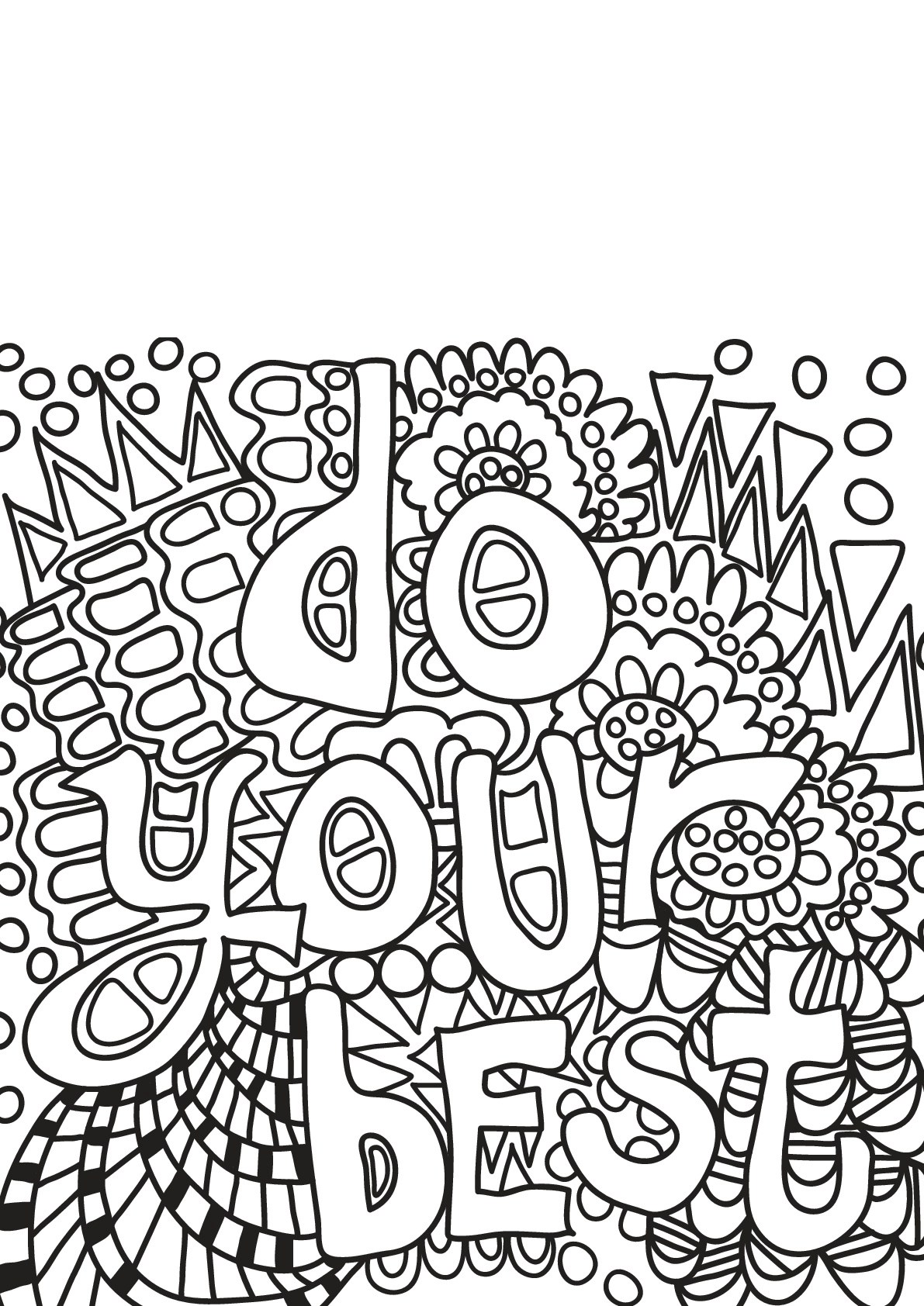 Free book quote 17 - Quotes Adult Coloring Pages   free coloring pages quotes