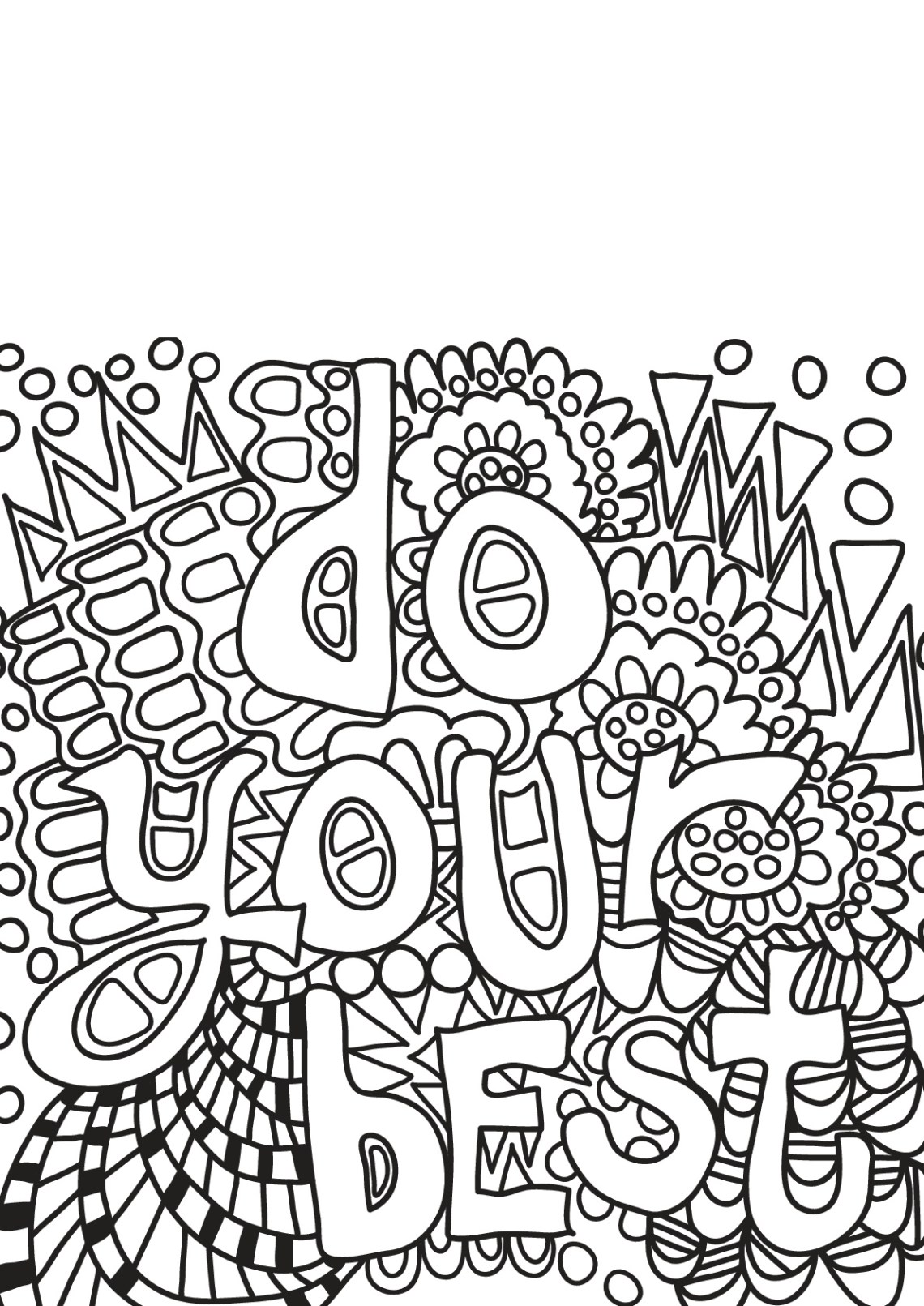 Free book quote 17 - Quotes Adult Coloring Pages | free printable colouring pages quotes