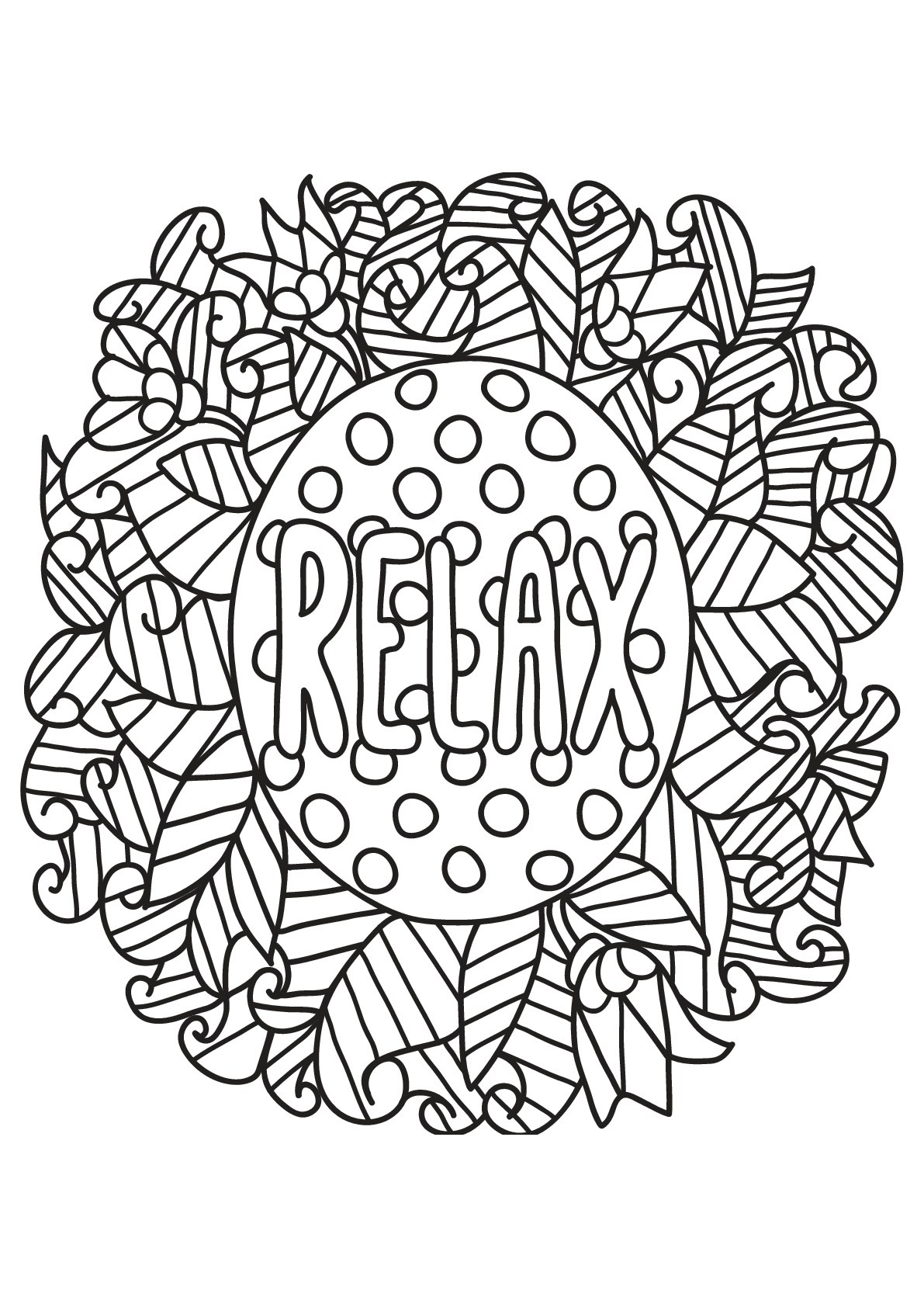 Free book quote 19 - Quotes Adult Coloring Pages | printable coloring pages for adults quotes