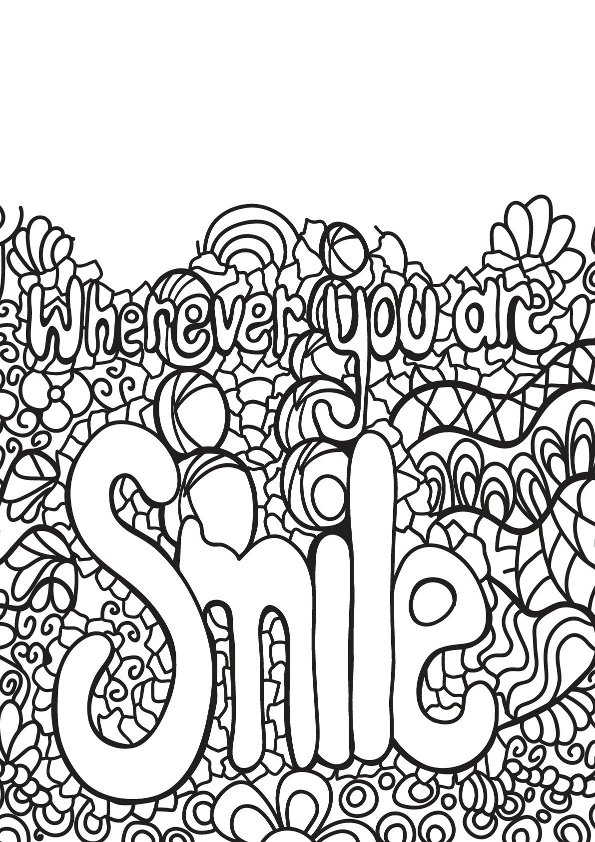 Free book quote 3 - Quotes Adult Coloring Pages | printable coloring pages for adults quotes