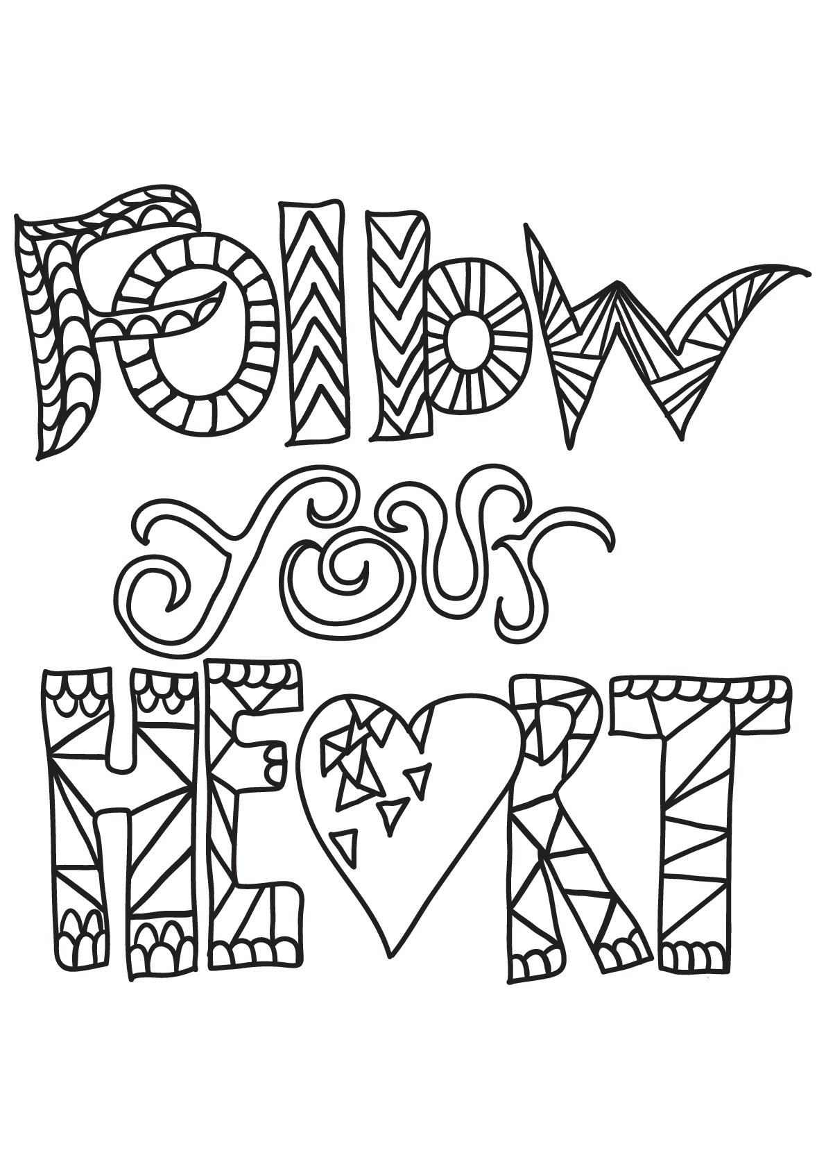 Free book quote 6 - Quotes Adult Coloring Pages   colouring pages for adults quotes
