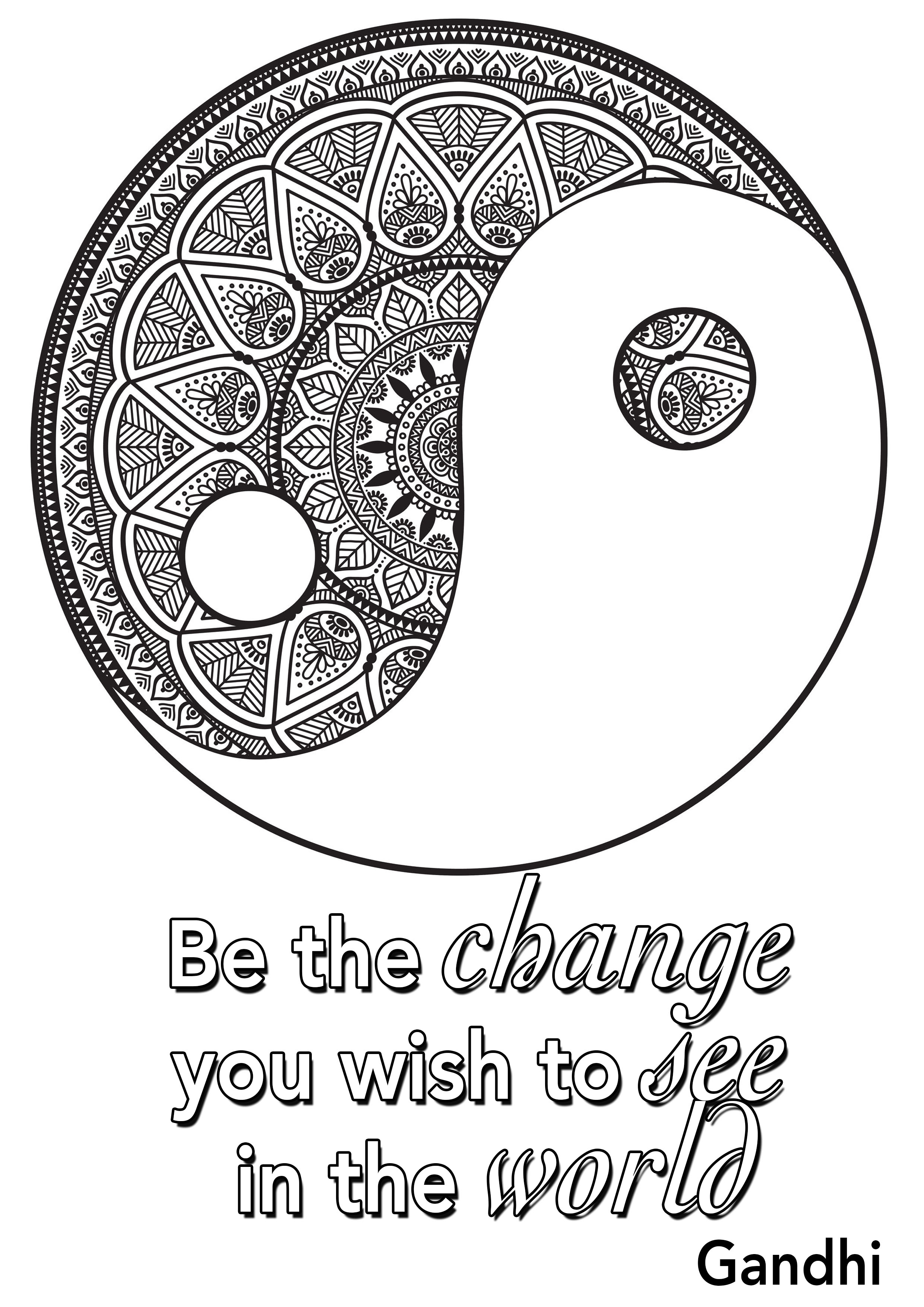 Quotes Coloring Pages Coloring Pages For Adults Justcolor Page 2