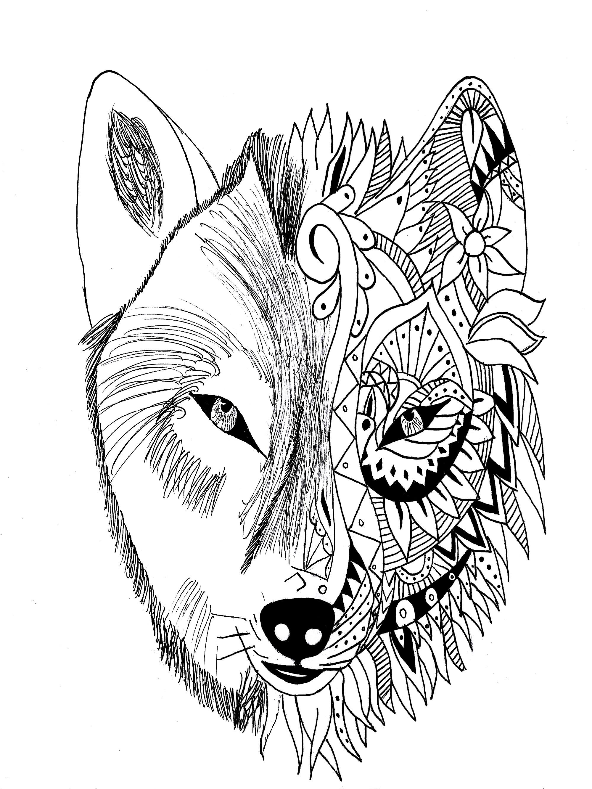 Tattoo Wolf Krissy