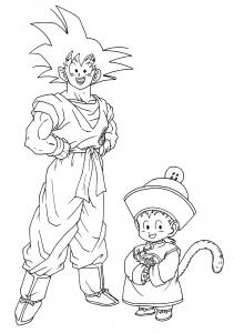 Dragon Ball Coloriages Pour Enfants
