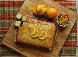 Nostalgic Orange Soaked Yogurt Cake