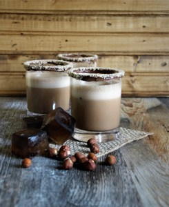 the best iced hazelnut mocha latte
