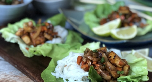 Better Than PF Chang's  Lettuce Cups (and these are vegan!!)