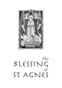 The Blessing of St Agnes front cover