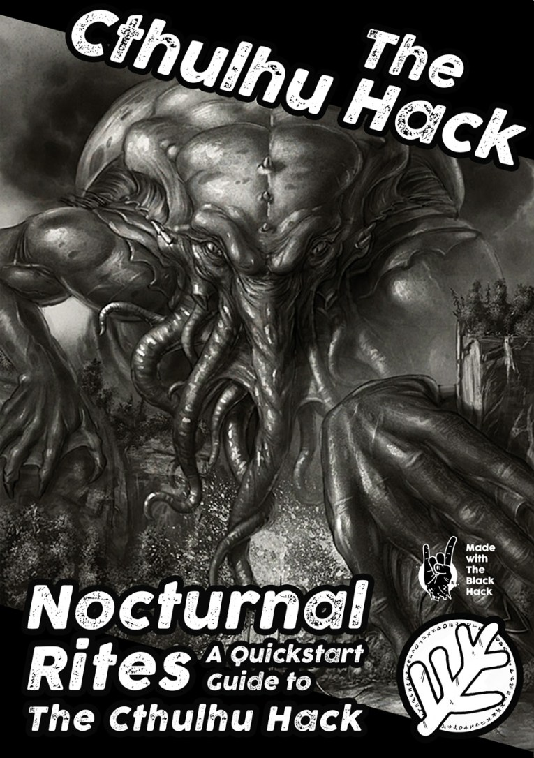 Cover image of The Cthulhu Hack Quickstart - Nocturnal Rites