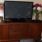 Looking for a bigger and better t.v cupboard? Check out this solution.