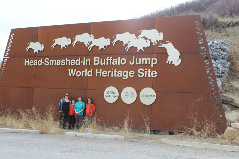 Spring Break Travels Part 1 (Head Smashed in Buffalo Jump)