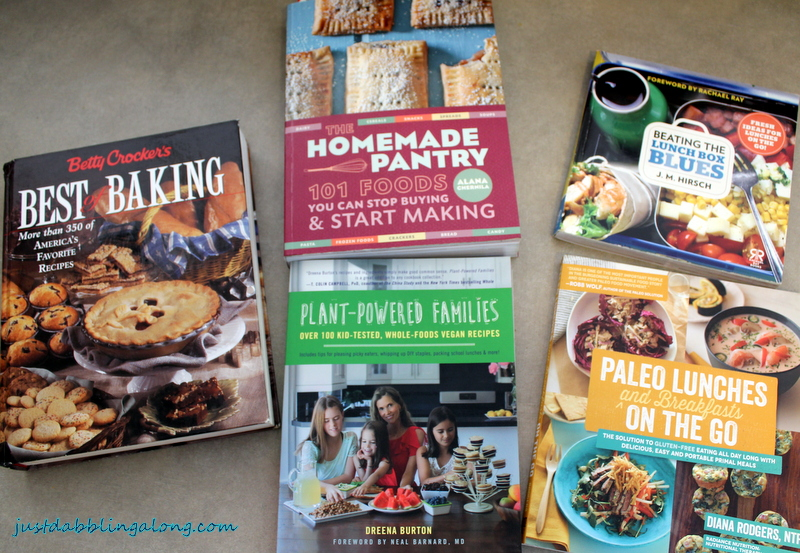Best books and blogs for school lunches