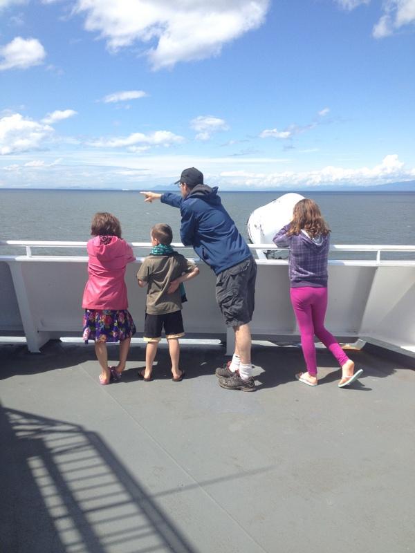 Fun family adventure on Vancouver Island B.C.