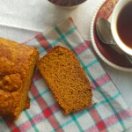 Homemade pumpkin bread. Yummy!
