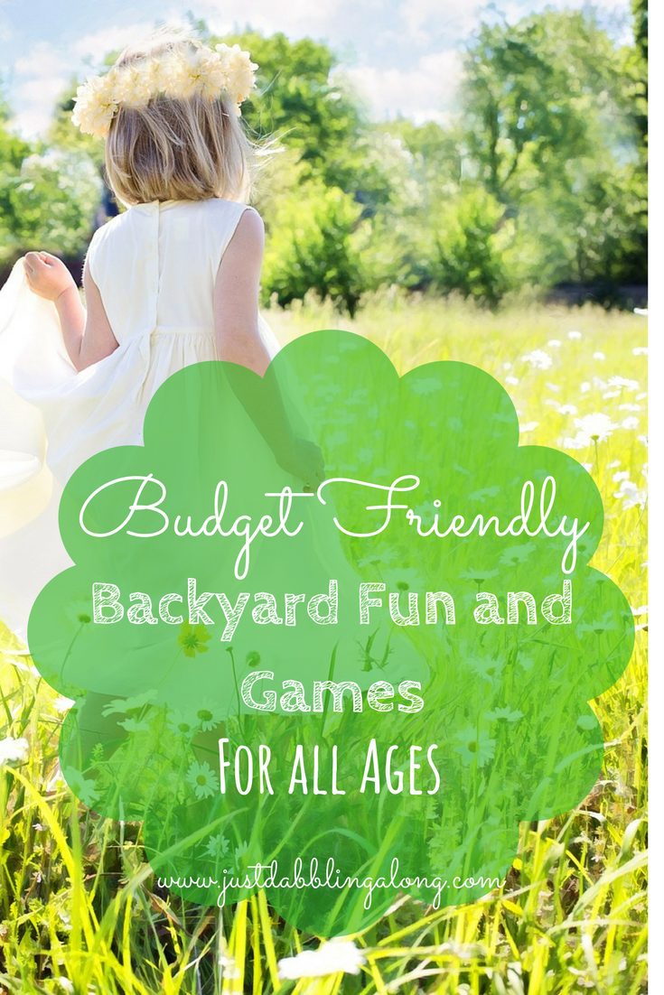 Budget Friendly Backyard fun and games for all ages.