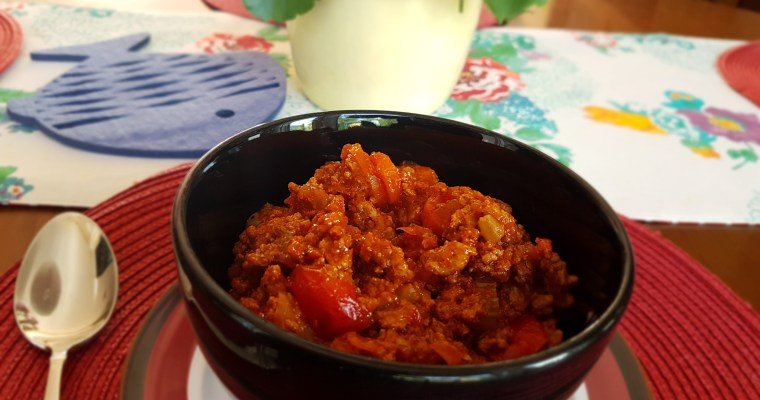 July Celebrations Turkey Chili