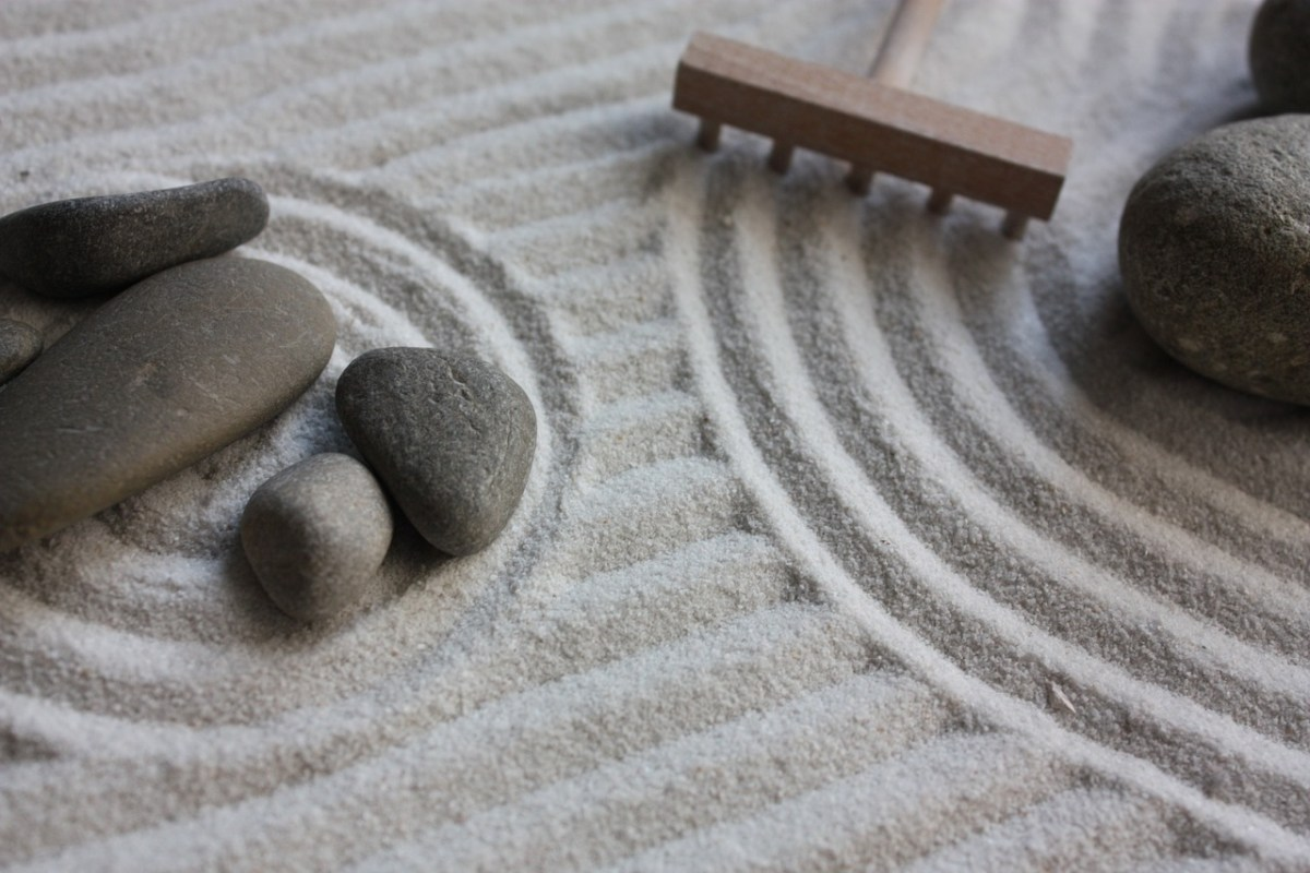 Having a Zen Garden to escape to can be soothing and relaxing.