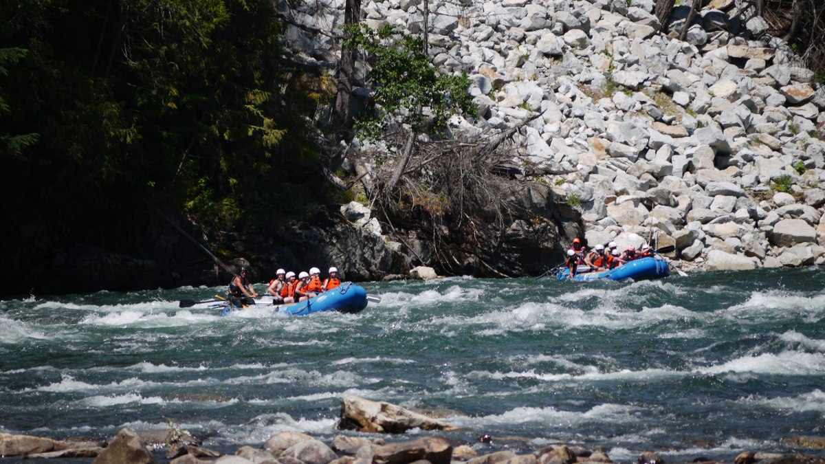 A day on the river with Nelson Whitewater Rafting Co.