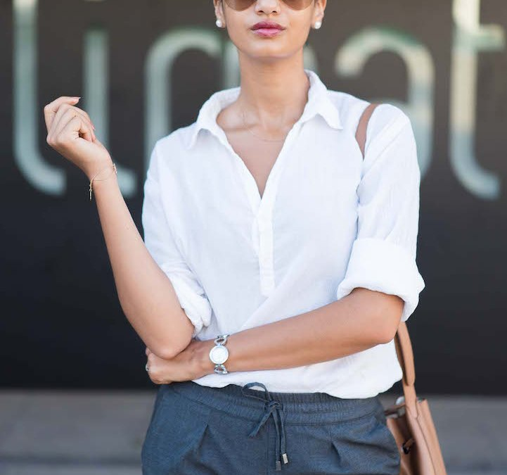 Working-girl series: Minimalist & casual outfit