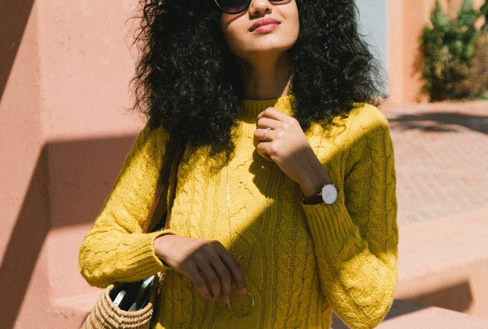 Spring transition: Mustard, white and travel plans