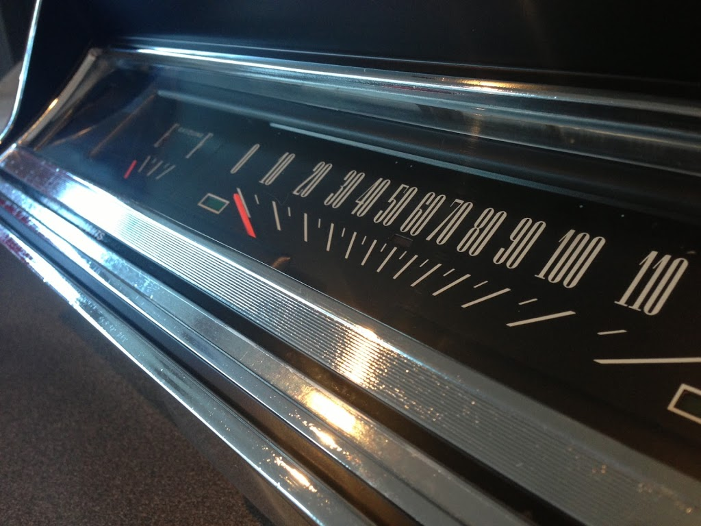1966 Ford Fairlane Instrument Cluster and Plastic Chrome Restoration