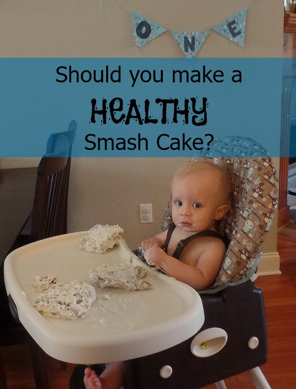 Should babies have a healthy first birthday cake?