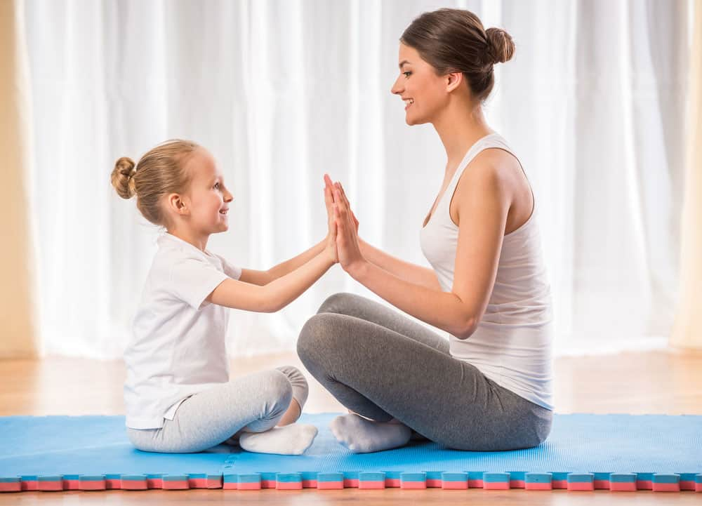 parenting child yoga