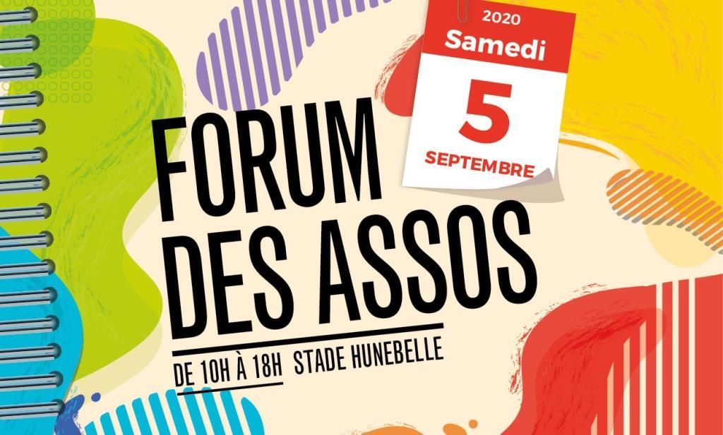 Affiche forum des associations de Clamart 2020